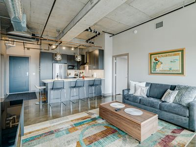 Photo for Minnestay* Sable 85 Two Bedroom ★ Private Balconies ★ North Loop ★ Target Field