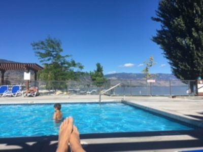 Photo for Family Friendly Private Beach Resort Rental, Osoyoos