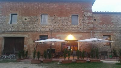 Photo for VILLA and FARM OF RADI SIENA TUSCANY CHARMING SUITE DRAGO WIFI POOL AIR COND