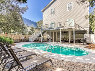 Photo for Sweet Magnolia-Gorgeous in Grayton Beach, Heated Pool, Outdoor Shower + Fire Pit