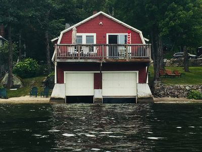 Photo for LAKE LIFE! Boat House with Mooring on Newfound Lake !