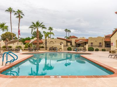 Photo for New! Alta Mesa quiet, relaxing single level home with heated pool view