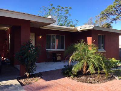 Front view of 3 BR, 2 BA home; newly remodeled; close to Downtown, Beach, Bay)