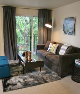 Photo for Light & Bright Corner Unit Condo in Belltown.  One bedroom w/ Laundry & Parking!