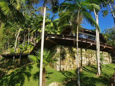 Photo for CASA NO MORRO in the middle of the woods and overlooking the sunset in the lagoon