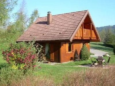 Photo for Quiet, pleasant Chalet wood, label 3 CléVacances, wifi, ch. Vac. accepted