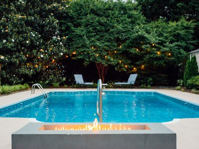 "Photo for Close to everything (location, wow) in a private home with a pool! ""The Ville"""