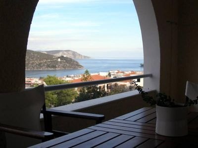 Photo for Modern village house - Beautiful sea views all around - Sandy beaches - v.Good base for visits to archeological sites & picturesque islands (Hydra, Spetses, Poros)