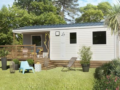 Photo for Mobile Home Pacific - Camping Le Panoramic