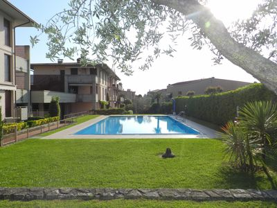 "Photo for ROMANTIC TWO ROOMS APARTMENT ""BARDOLINO IN"" WITH POOL  NEAR THE CENTER"