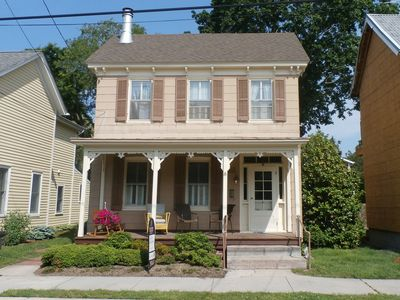 Photo for Historic home in downtown Lewes with PRIVATE POOL/HOT TUB and is also pet friendly!