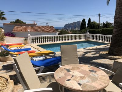 Photo for Villa Walt Calpe Gran Sol 6-8 people with sea view Free wifi