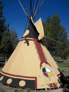 Photo for #2 Redtailed Hawk Native American Tipi