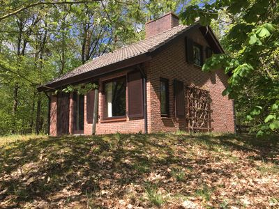 Photo for Detached holiday home on the Veluwe in Emst. Quietly situated in the forest.
