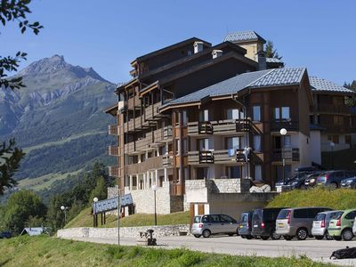 Photo for Studio quiet with views of the peaks on the slopes of Valmorel with a skier return