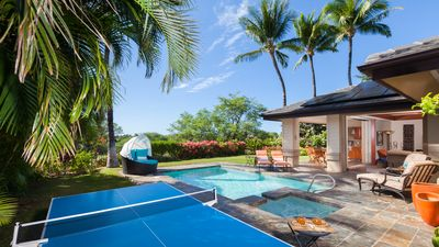 Welcome to SeaBreeze - private backyard pool, spa, ping pong table and covered lanai for family fun
