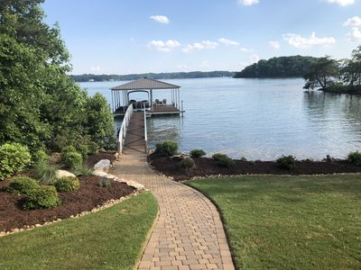 Photo for Best Private Long Distance View onLake Keowee
