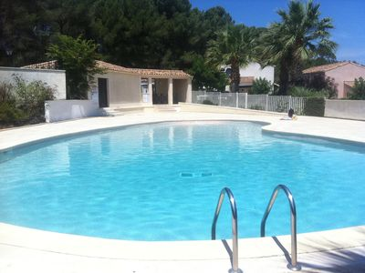 Photo for Pézenas: Prime Location, Gated Domaine, Secure Family Environment, Free wifi