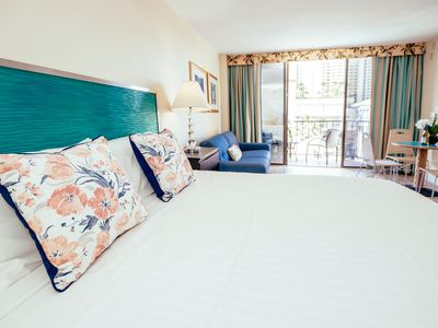 Photo for Palms Waikiki City Studio on 3rd Floor with Hotel Amenities and FREE PARKING