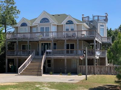 Photo for #4003: OCEANSIDE Home in Corolla w/HtdPool & HotTub, Dog Friendly