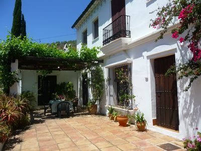 Photo for Beautiful villa with traditional annexe in charming hillside village