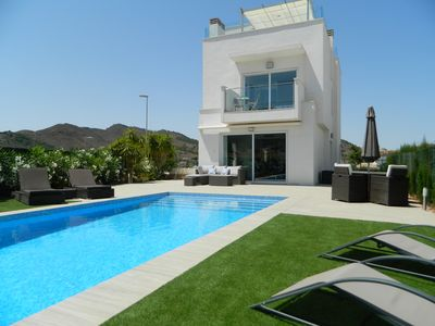 Photo for Centre of La Manga Club with private heated pool