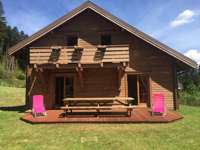 "Photo for Chalet ""Le Cerf"" comfortable for 8 to 10 people, Xonrupt,"