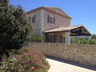 Photo for Maison Chloé, heart of the Luberon, breathtaking views, upscale amenities