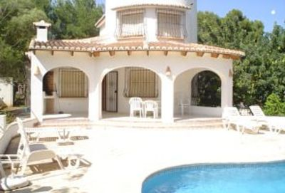 Photo for Close to beach, Moraira centre, golf courses, tennis,air conditioning