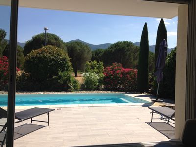 Photo for modern villa near the sea, facing the Albères massif, next to Spain