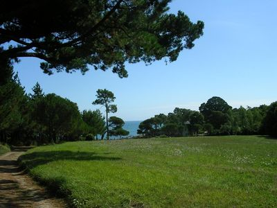 Photo for Charming house in a park bordering the sea, direct access to beaches