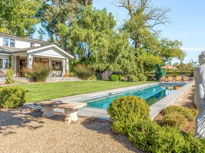 Photo for Farmhouse Estate w/ Pool in Heart of Wine Country