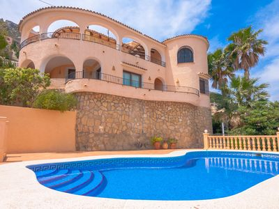Photo for ARCADIEN, villa in Calpe with beautiful sea views free wifi