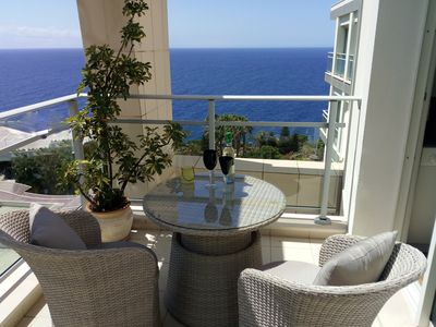 Photo for Ocean front facing luxury apartment in excellent location- Roda Mar