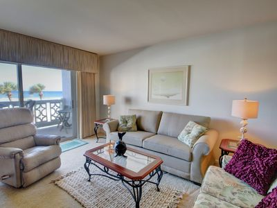 Photo for Wonderful Gulf Front Condo w/Balcony, Pool, Tennis, Beach Access, & More!