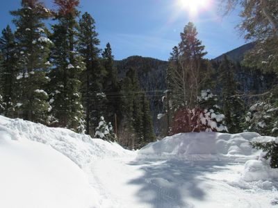 Photo for BEAUTIFUL TAOS MOUNTAIN LIVING! ...CLOSE TO SLOPES ........New & Quiet