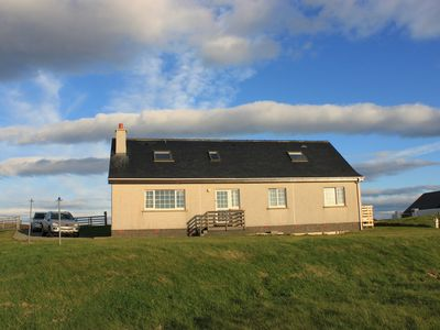 Photo for Large bungalow with spectacular views over Stornoway, the Minch and mainland.