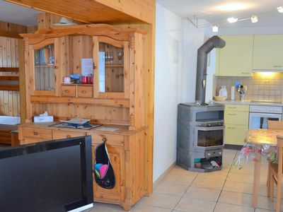 Photo for Outside : flat on the 1st floor of a chalet, for 4 persons, balcony, garden with garden furniture -I