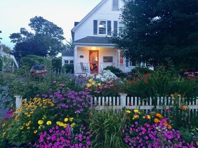 Photo for Classic Chatham Village Home, 2 Minute Walk to Downtown, Gorgeous Yard!: 085-C