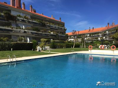 Photo for Apartment Parc Del Mar By Beach, A/C & Communal Pool