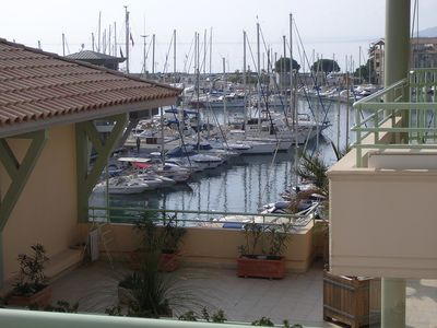 Photo for Frejus beach T3 air-conditioned by the sea with terrace