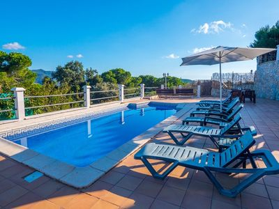 Photo for 4BR Villa Vacation Rental in Sant Pol de Mar, Costa Maresme