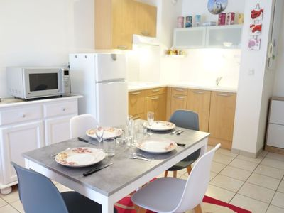 Photo for Apartment 768 m from the center of Vaux-sur-Mer with Lift, Internet, Washing machine, Pool (109383)