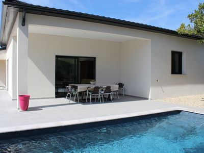 Photo for Modern design house with pool in Drome Provençale