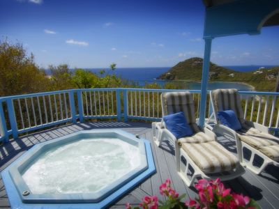 Hot Tub with Views of Hart Bay