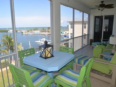 Photo for Stunning 3 Bedroom Condo with Basin & Ocean Views Located in Lower Matecumbe - Bay Harbour A304