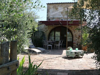 Photo for 850 years old House as part of a military village near San Gimignano
