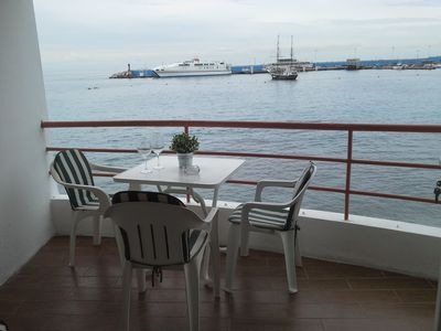 Photo for Boat View, frontline apt with spectacular views