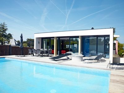 Photo for Vacation home Ferienhaus mit Pool (LOQ500) in Locquirec - 6 persons, 3 bedrooms