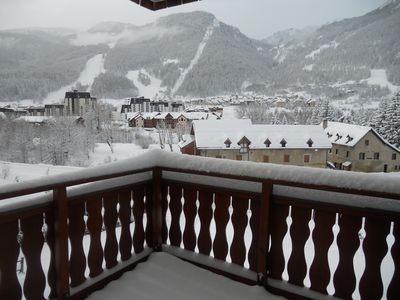 Photo for T3 sunny apartment opposite the slopes of PONTILLAS